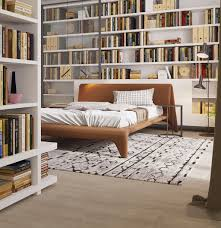 Bedroom Home Library