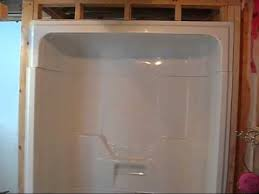 installing a ma aspen 3 piece tub shower day 2