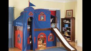 loft with slide. kids loft bed with slide