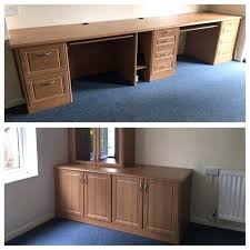 Diy fitted office furniture Mexicocityorganicgrowers Fitted Office Desk Study With Glass Cabinet Dresser Furniture Diy Letscampco Fitted Office Desk Study With Glass Cabinet Dresser Furniture Diy