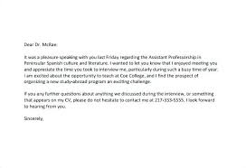 Thanks Letter After Phone Interview Follow Up Letter After Phone Interview Moulden Co