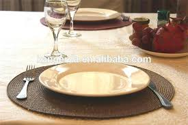 round glass dining table placemats round place mats paper woven round table mat handmade dining table