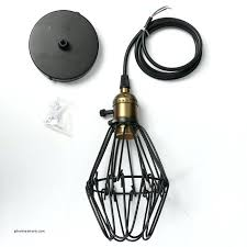pendant work light industrial cage work light chandelier new vintage black metal cage pendant lighting chandelier