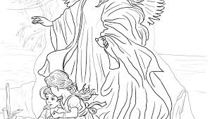 Free Angel Coloring Pages For Adults Free Angel Coloring Pages Free