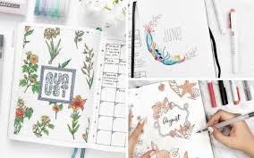 art cover page ideas 19 monthly cover pages to beautify your bullet journal