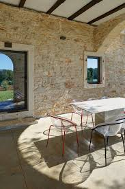 stone house furniture. a modern reconstruction of an old stone house architectural office tobisinzenjering croatia furniture