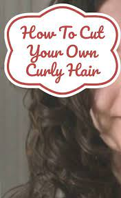 own curly hair dry curl cut at