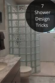 Best  Glass Block Shower Ideas On Pinterest - Walk in shower small bathroom