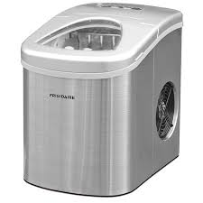 frigidaire 26 lb countertop ice maker efic117 ss stainless steel