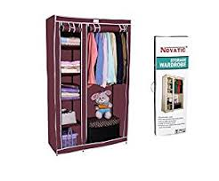 sturdy hanging closet organizer. Interesting Closet Novatic Heavy Duty Steel Frame Portable Storage Organizer 6 Shelves And 1  Hanging Space Inside Sturdy Closet R