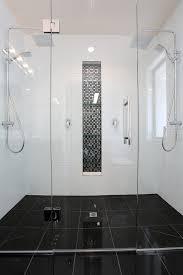bathroom tile ideas nz. Contemporary Ideas Bathroom White With Black Tiles  Design Ideas And Tile Nz K