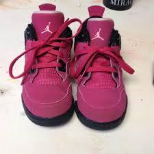jordan shoes for girls black and purple. jordans shoes - girls jordan\u0027s 4s pink and black jordan for purple n