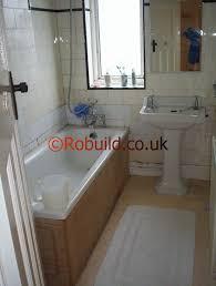old small bathroom london