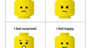 Lego Emotions Inference Game Pdf Emotion Faces Lego