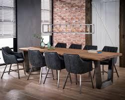 Xxl Esstisch 300 Cm Baumstamm 6 Cm Dicke Tischplatte Holztisch