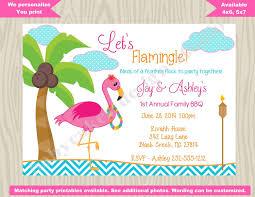 bbq invitation wording best of flamingo luau invitation flamingo invitation bbq luau hawaiian luau of bbq