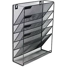 wall mounted file organizer mesh hanging wall files mounted doent organizer 5 compartment vertical wooden wall