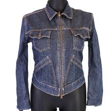 Womens Levi Jeans Size Chart Uk Details About S Levis Womens Jean Jacket Int Xl Show Original Title