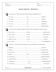 Adjectives Worksheets Grade Free Adjective Elementary Adjectives ...