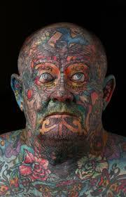 австралиец забил татуировками все тело