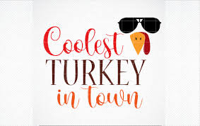 Vector files are available in ai, eps, and svg formats. Coolest Turkey In Town Svg Thanksgiving Graphic By Svg Den Creative Fabrica