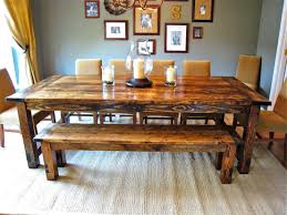 Country Style Dining Room Tables Awesome Country Style Kitchen Tables On Kitchen With Bench Style