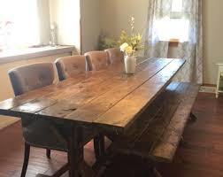 farmhouse table etsy
