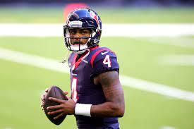 Houston Texans quarterback Deshaun ...