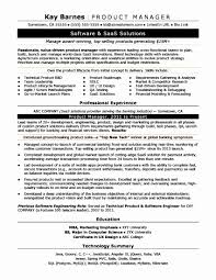 Product Manager Resume Sample Best Of Project Management Resume