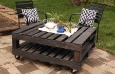 Diy Recycled Pallet Coffee Table For My Tv Room Youtube Ideas Pallet Coffee Table Diy Instructions