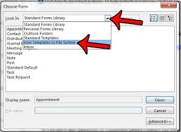 open outlook template how to create an outlook email template in outlook 2013 solve your