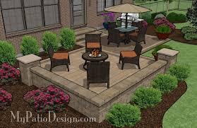 square patio designs. Wonderful Square Medium Two Square Patio 9732 Inside Patio Designs Y