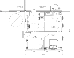 blueprint view of in law apartment