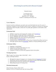 Download Advertising Executive Sample Resume