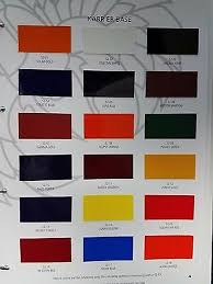 Hok Paint Color Chart House Of Kolor Chip Book Architectural Designs