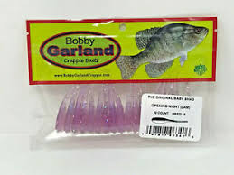 Bobby Garland Baby Shad Color Chart Details About Bobby Garland Crappie Baits Baby Shad Opening Night Bs222 18