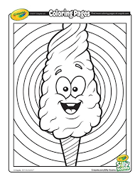 candy coloring page. Beautiful Page Silly Scents Cotton Candy And Coloring Page K