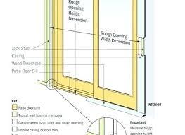 lovely framing patio door for patio door sizes lovable standard sliding 86 thin framed sliding patio amazing framing patio door