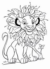 free printable simba coloring pages for kids in page