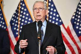 I hate to agree with Mitch McConnell ...