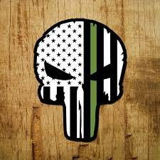 I have no ownership or publishing rights to music audio used in video. Thin Green Line Of Courage Punisher Skull Decal Inshane Designs