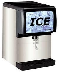 scotsman id150b 150 lb capacity 22 wide ice dispenser ice dispensers countertop ice dispensers at scotsman ice maker