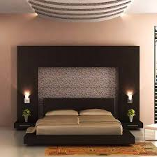 how to decorate the wall behind a bed