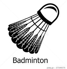 Badminton Icon Simple Black Styleのイラスト素材 37349575 Pixta