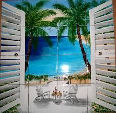 Murals For Kitchen Backsplash Tile Murals