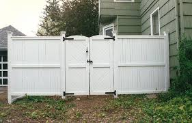 Fence Gate Image Of White Wood Fence Gate Kit Nongzico
