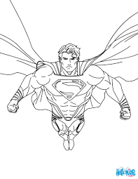 Superman Printing And Drawing Coloring Pages
