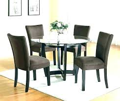 round glass dining table set for 6 modern round dining table for 6 modern round dining