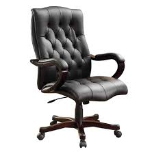 contemporary leather high office chair black. Leather Office Chairs Awesome Contemporary High Chair Black