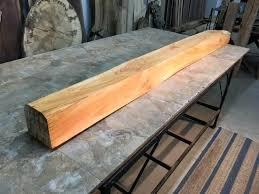 wood slab fireplace mantels x x pine mantel beam lumber figured solid pine great mantel beam v